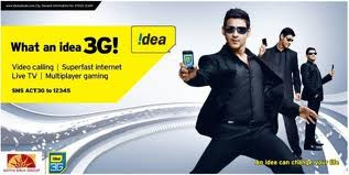 Idea Postpaid 3G USB Modem, Broadband Data Card Internet Connection-Delhi NCR Zone