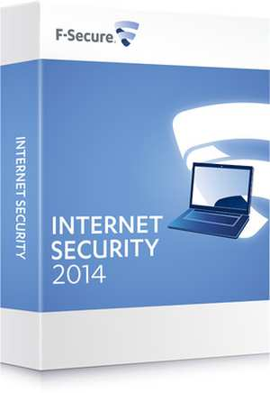 F-Secure Internet Security 2014 Software CD