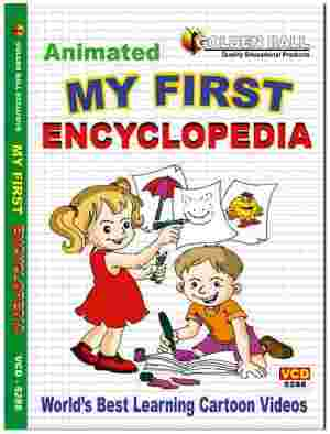 Golden Ball Animated English DVD My First Encyclopedia