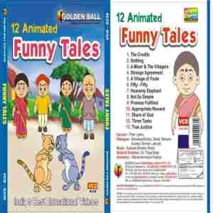 Funny Tales Enlish Dvd | Golden Ball Funny EnglishTales Price@Golden Tales Vcd Englishtales Market Shop - HelpingIndia