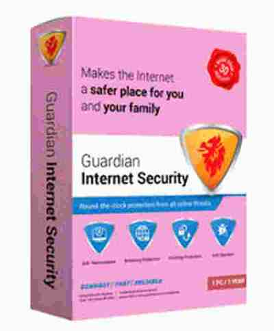 QuickHeal Guardian Internet Security for Desktop & Laptops Security Software
