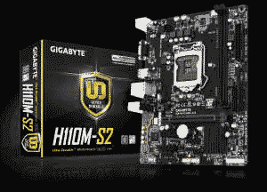 Gigabyte GA-H110M-S2 DDR4 Intel 6th Generation LGA 1151 Motherboard
