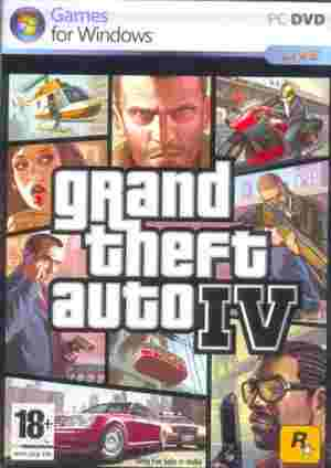 Grand Theft Auto IV Game DVD
