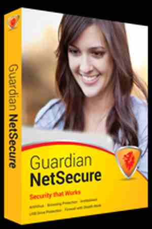 Guardian Netsecure 1 User 1 Year for Desktop & Laptops Antivirus Software