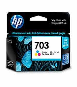 HP 703 Tri-color Deskjet Ink Cartridge