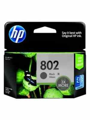 HP 802 Black Large Ink Cartridge