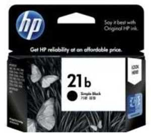 HP 21b Black Inkjet Print Cartridge