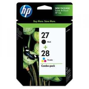 HP 27/28 Twin Combo-pack Ink Cartridges