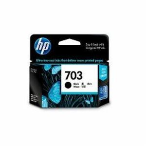 HP 703 Deskjet Black Ink Cartridges