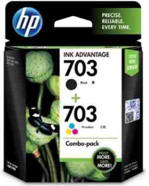 HP 703 Combo Twin Pack