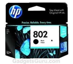 HP 802 Black Ink Cartridge