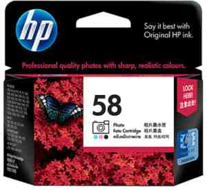 Hp 58 Photo Ink | HP 58 Photo (C6658AC) Price@Hp 58 Cartridge (c6658ac) Market Shop - HelpingIndia