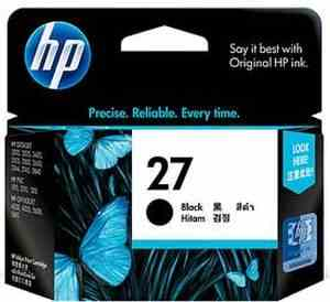 HP 27A Black Inkjet Print Cartridge