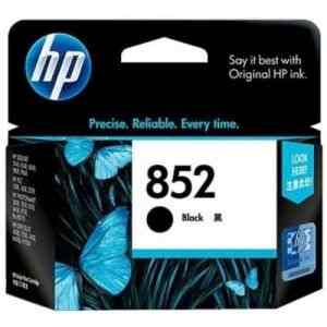 HP 852 Black Inkjet Print Cartridge - Click Image to Close