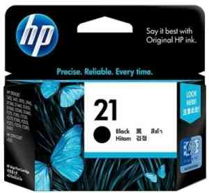 HP 21A Black Inkjet Print Cartridges