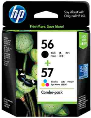 HP 56/57 Combo-pack Ink Cartridges