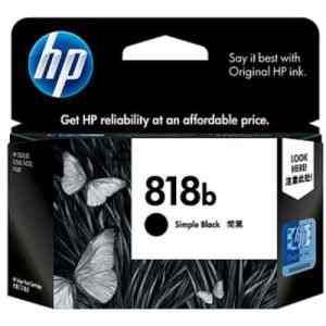 HP 818b Simple Black Ink Cartridge