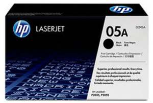 HP 05A Black LaserJet Original Toner Cartridge