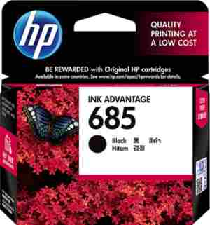 HP 685 Black Ink Cartridge