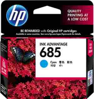 Hp 685 Ink Cartridge | HP 685 Cyan Cartridge Price@Hp 685 Ink Cartridge Market Shop - HelpingIndia