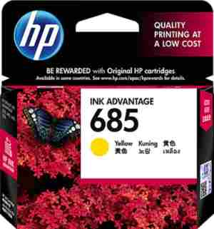 HP 685 Yellow Ink Cartridge