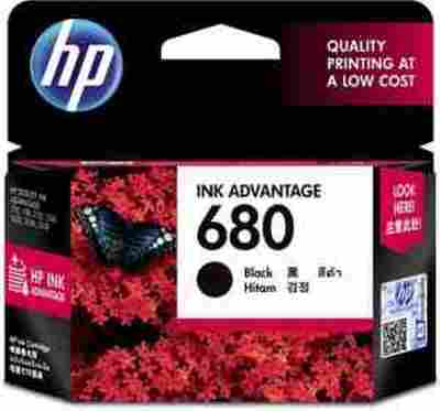 HP 680 Ink-advantage Black Original Printer Ink