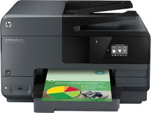 HP - Officejet Pro 8610 e Multi-function Inkjet Printer