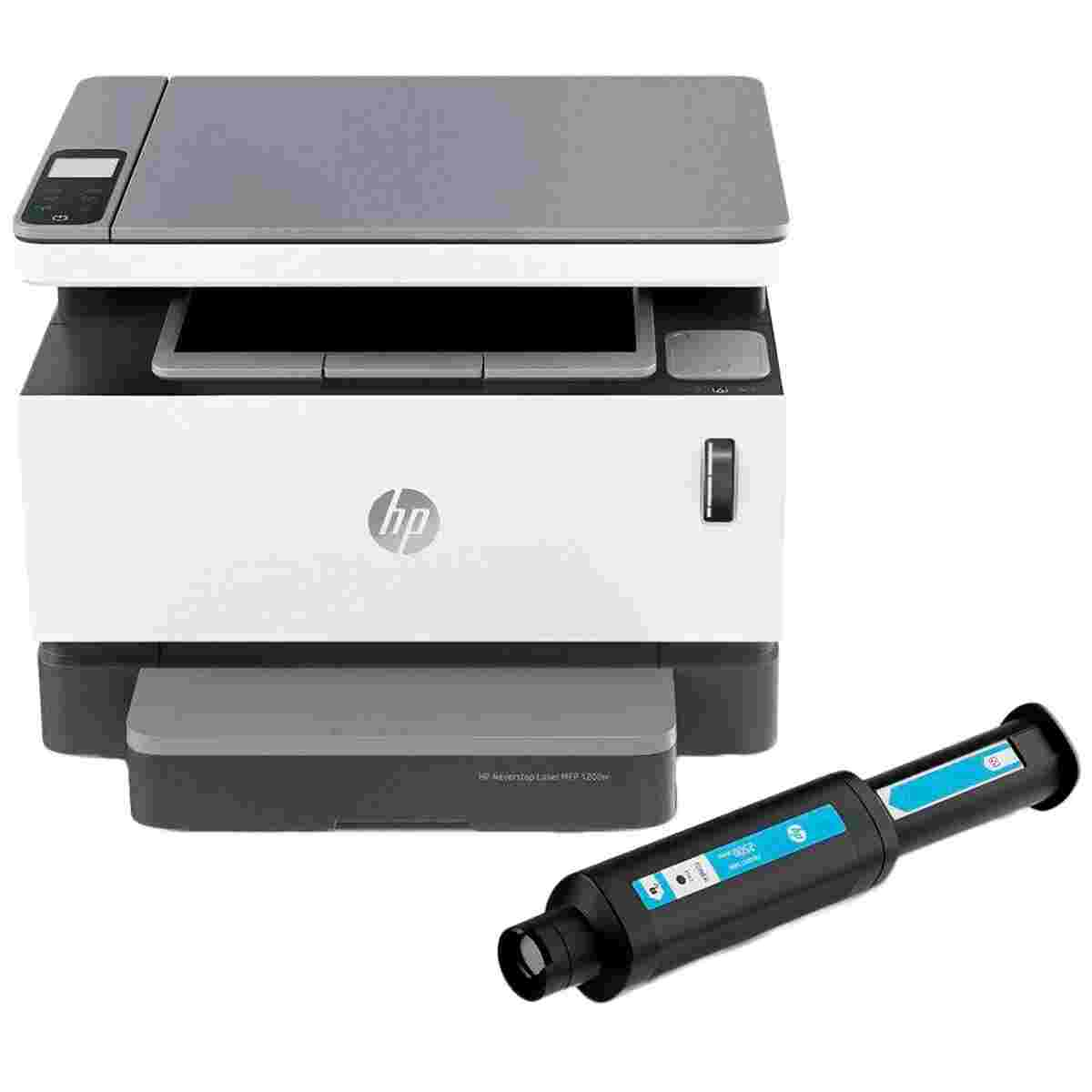 HP 1200w Neverstop Laser Wireless Multi Function Laser Tank Printer