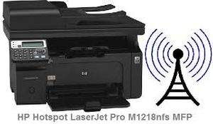 HP�HotSpot LaserJet Pro M1218nfs Wireless Wifi Printer