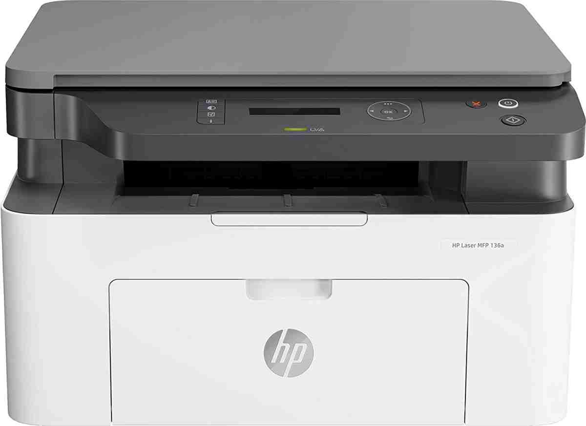 HP 136a MFP Multi Function Print Scan Copy Mono Laser Printer