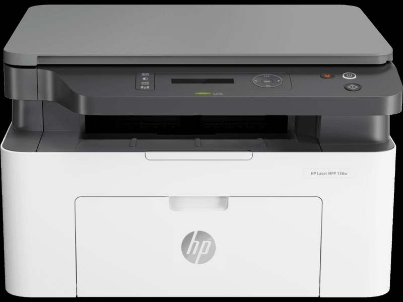 HP MFP 136w Multi Functions Print Scan Copy wifi Laser Printer