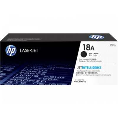 HP 18A Original Black LaserJet Toner Cartridge - Click Image to Close