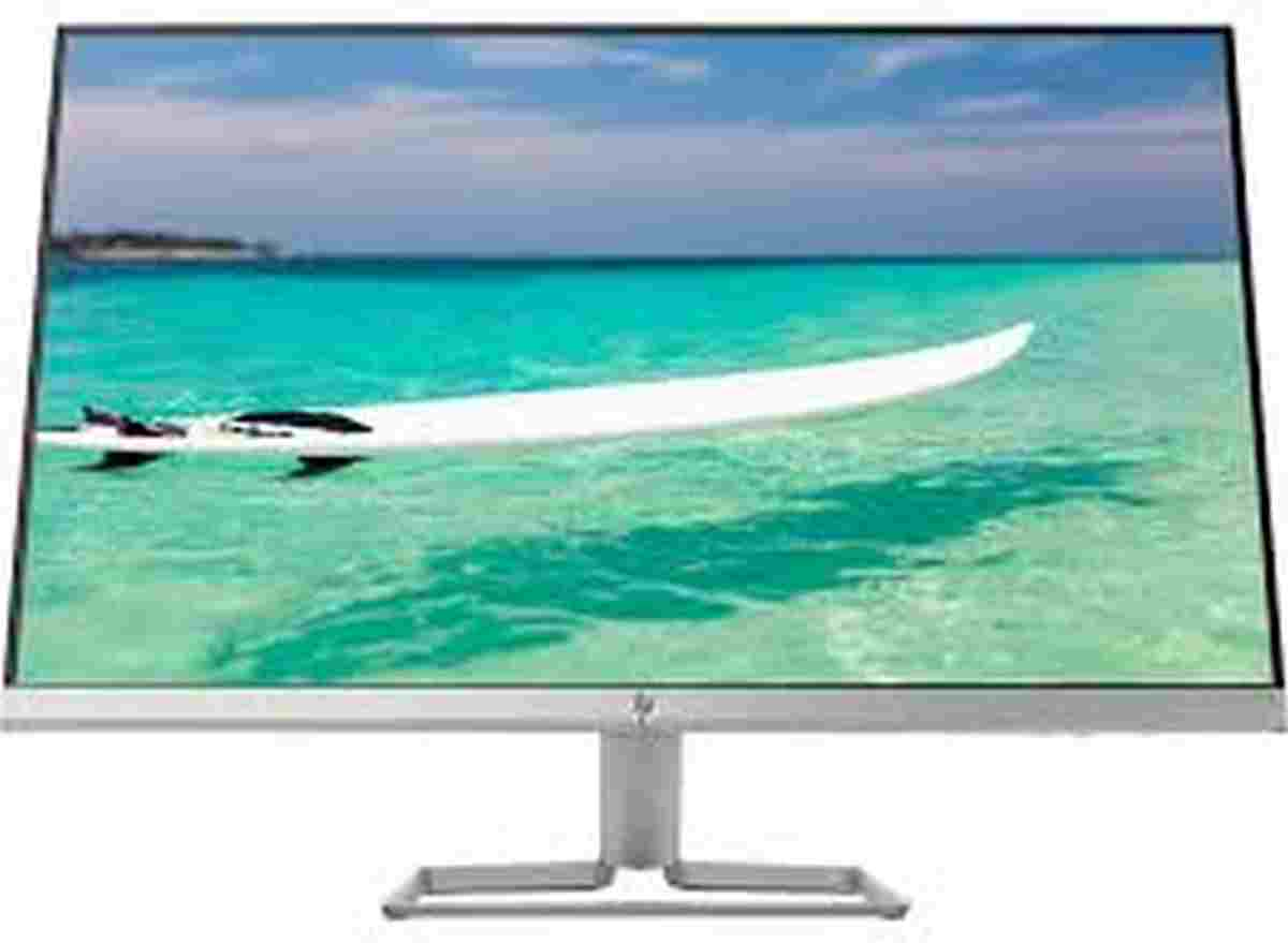 HP 27F 27-inch EliteDisplay VGA+HDMI Port Anti Glare IPS Full HD LED Monitor