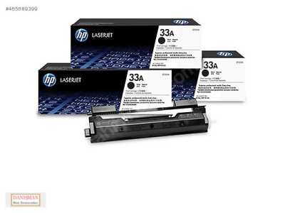 HP 33A CF233A Black Original LaserJet Toner Cartridge