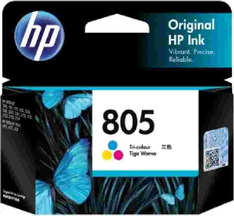 HP 805 Tri-Color Original Ink Cartridge