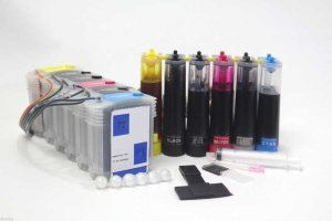CISS Ink Tank System for HP72 Cartridge DesignJet T610 T620 T790 T770 T1100 Kit