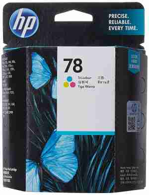 HP 78D (C6578DN) Tri Color Ink Cartridge
