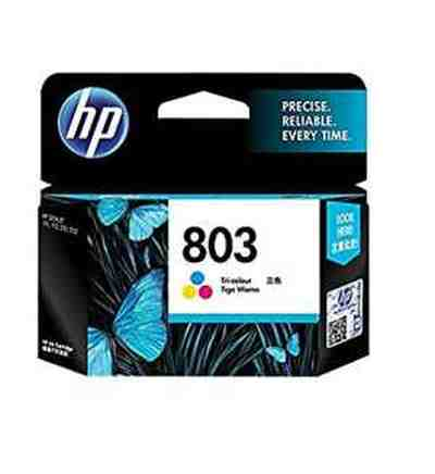 HP 803 Color Original Tri-Color Printer Ink Cartridge