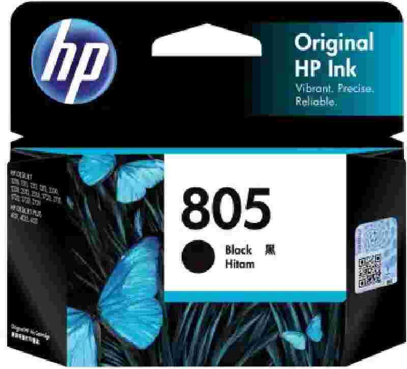 HP 805 Black Original Ink Cartridge