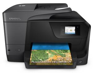 HP OfficeJetPro 8710 with Mobile Printing, Instant Ink ready Wireless All-in-One Photo Printer