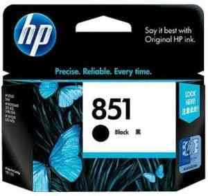 HP 851 Black Inkjet Print Cartridge