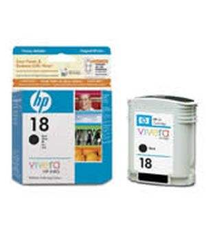 HP 18 Black Ink Cartridges