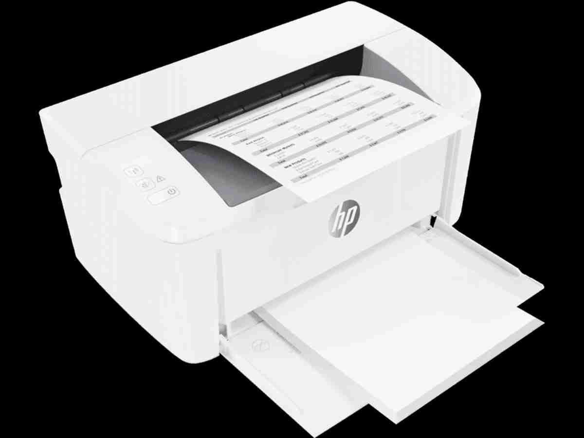 HP M17w LaserJet Pro Single Function Wireless Smallest Laser Printer