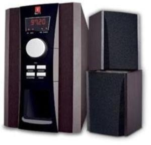 iBall Tarang 2.1 Speakers with FM 2.1 Channel Multimedia Speakers (Wooden)