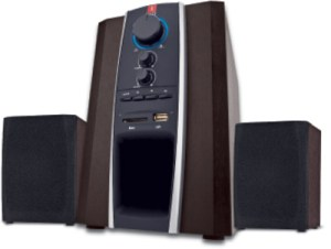 iBall Tarang USB 2.1 Channel Multimedia Speakers(Wooden)