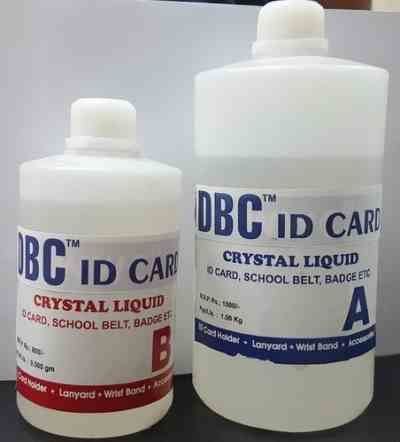 Id Card Chemical | Crystal LIQUID iCard Chemical Price 20 Nov 2018 Crystal Card Lamination Chemical online shop - HelpingIndia