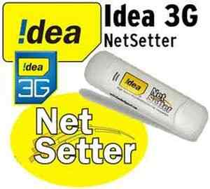 Idea Postpaid 3G Internet USB Data Card Dongle Tariff Plans Delhi