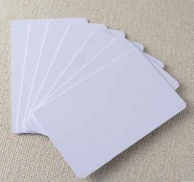 PVC Blank ID Card Epson Printer 50 PCs Box Plastic Premium White Inkjet Cards