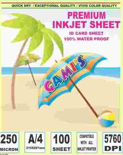 Inkjet Teslin Paper | Inkjet TESLIN IDCARD Sheets Price 19 Aug 2019 Inkjet Teslin Rubber Sheets online shop - HelpingIndia