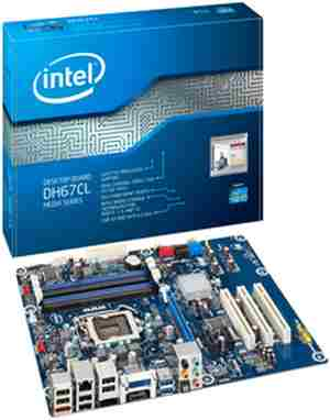 Intel DH67CL Motherboard